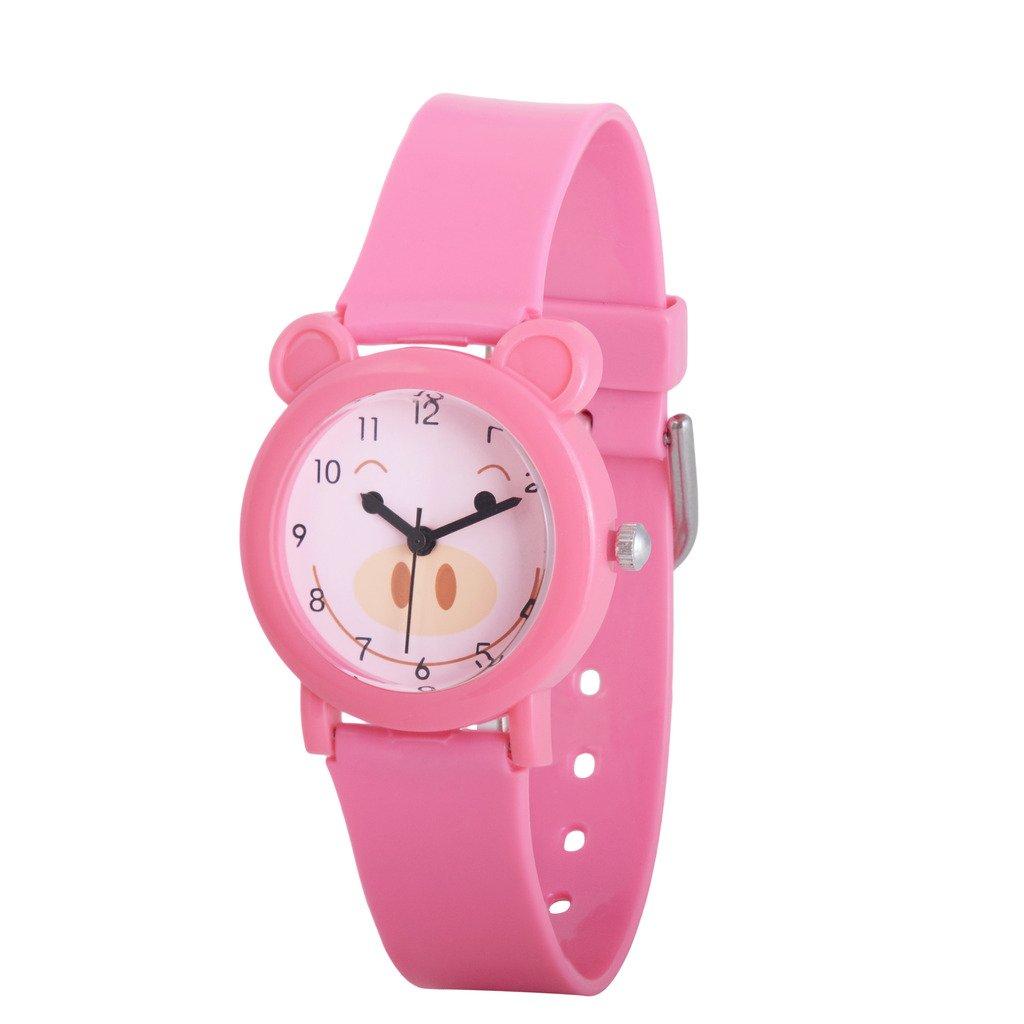 Wolfteeth Watches for Kids Girls Watch Pink