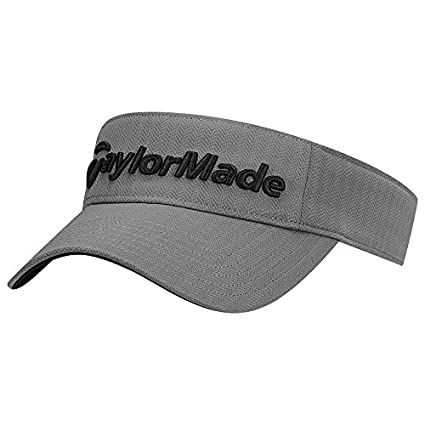 e74e2ace2be Amazon.com   TaylorMade Golf 2017 performance radar visor grey ...