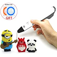 3D Printing Pen DIY for Doodling, Art, Craft Making, 3D Modeling Use Filament Refills 1.75 mm PLA/PCL USB Power No Mess, Non-Toxic, Suitable for Kids & Adults