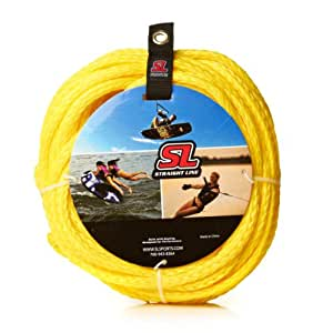 Straight Line Stock 2 Person Tube Rope (Yellow)