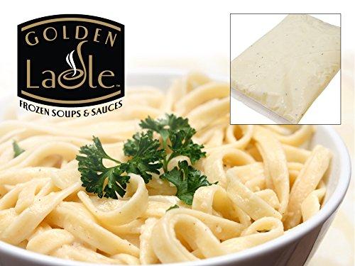 Golden Ladle Alfredo Sauce, 3 lb, (4 count) by Golen Ladle