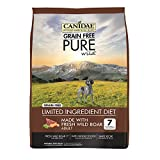 CANIDAE Grain Free PURE Wild Dog Dry Formula with Fresh Wild Boar, 24 lbs