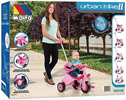 Triciclo Infantil Molto Urban Trike Rosa