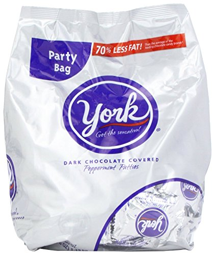 York Peppermint Miniatures Bag, Value Pkg 120-Ounce by Unknown