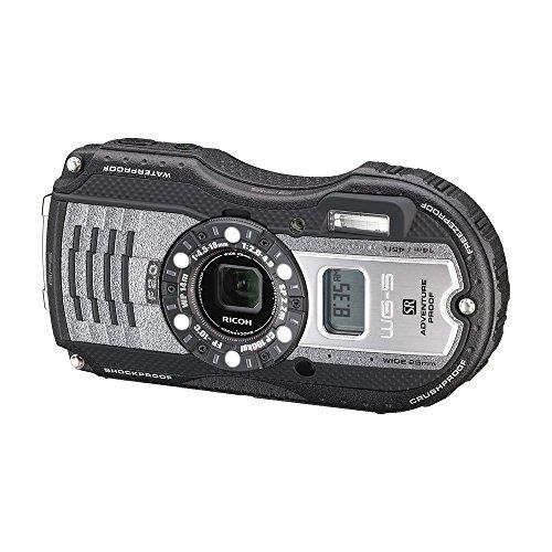 RICOH waterproof digital camera WG-5GPS gunmetal waterproof 14m withstand shock 2.2m cold -10 degrees 04651 by Ricoh (Image #4)