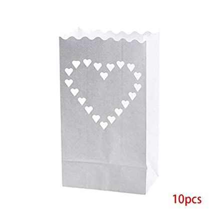 Amazon.com: Decoración para fiestas – 10 piezas de linterna ...