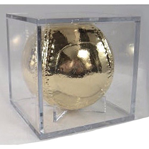 Roxx Fine Jewelry™ PLATINUM BASEBALL Real Baseball dipped in Platinum includes clear display case by Roxx Fine Jewelry (Image #2)