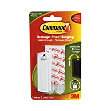 Command Sawtooth Adhesive Picture Hanger (Pack of 6)