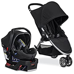 Enjoy family time with the B-Agile/B-Safe 35 Elite Travel System combining the Britax B-Agile Lightweight Stroller, the Britax B-Safe 35 Elite Infant Car Seat, and the Britax car seat adapters in one convenient box. The B-Agile Stroller is li...