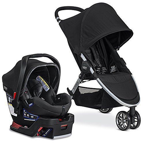 3 Wheel Baby Stroller Travel System - 7
