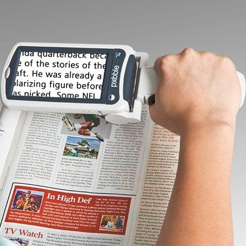 Enhanced Vision Pebble Portable Video Magnifier - Pebble Portable Video Magnifier - 4.3