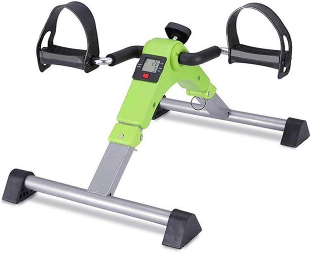 DMZH Mini Bicicleta Estática, Pedalier Plegable Manual Pedaleador para Ancianos para Ejercicios De Piernas Y Brazos: Amazon.es: Deportes y aire libre
