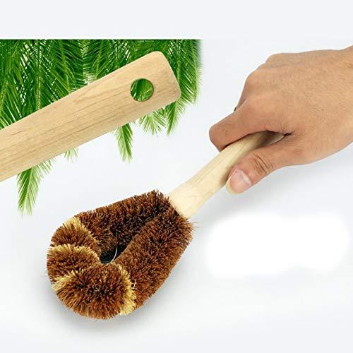 Susanda Zenxin Natural Wooden Handle Coir Wash Brush (Sam7929)