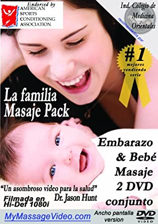 Amazon.com: La familia Masaje Pack: Embarazo & Baby Masaje 2 DVD ...