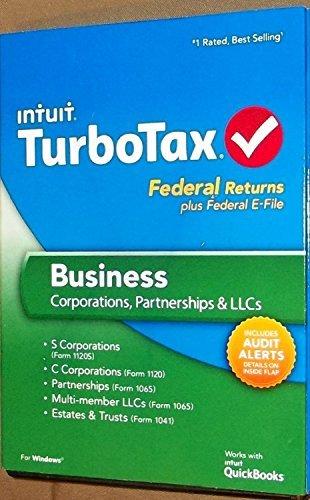 TurboTax Business 2013