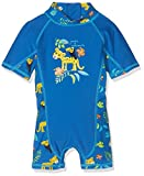 Tube Rider Baby Boys Onepiece Uv Swimsuit, Blue (Victoria 18-4148 Tpx), 74 (Manufacturer Size: 74/80)