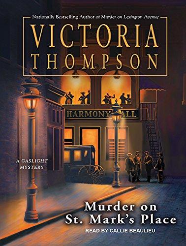 Murder on St. Mark's Place (Gaslight Mystery) ebook