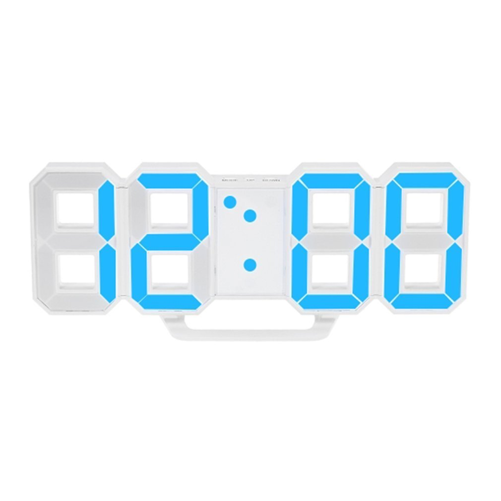 YCDC B Digital, LED, Wall Clock, Watch, Timer, Watch Alarm Clocks Modern Design Large Size Digital LED Wall Clock Watch Home Timer Alarm Clocks