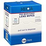 Premoistened Lens and Glass Cleaning Wipes