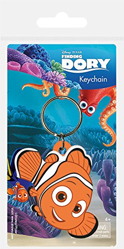 Pyramid International Finding Dory Nemo Goma Llavero,, 4,5 x ...