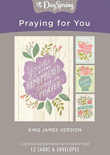 DaySpring Inspirational Praying for You - Inspirational Boxed Card - Praying for Your House (81839) (Bible Verses About Love King James Version)