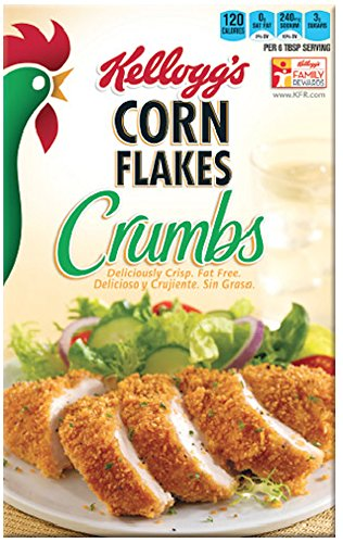 Kelloggs Corn Flakes Crumbs, 21 ounce, 2 pack by Kellogg's