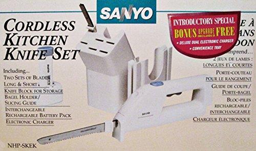Sanyo Cordless Kitchen Electric Knife Set