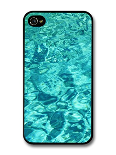 Pool Waves Pattern And Blue Summer Water Cool Style Design coque pour iPhone 4 4S