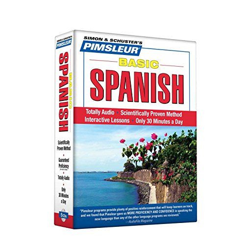 Pimsleur Spanish Basic Course - Level 1 Lessons 1-10 CD: Learn to Speak and Understand Basic Spanish with Pimsleur Langu
