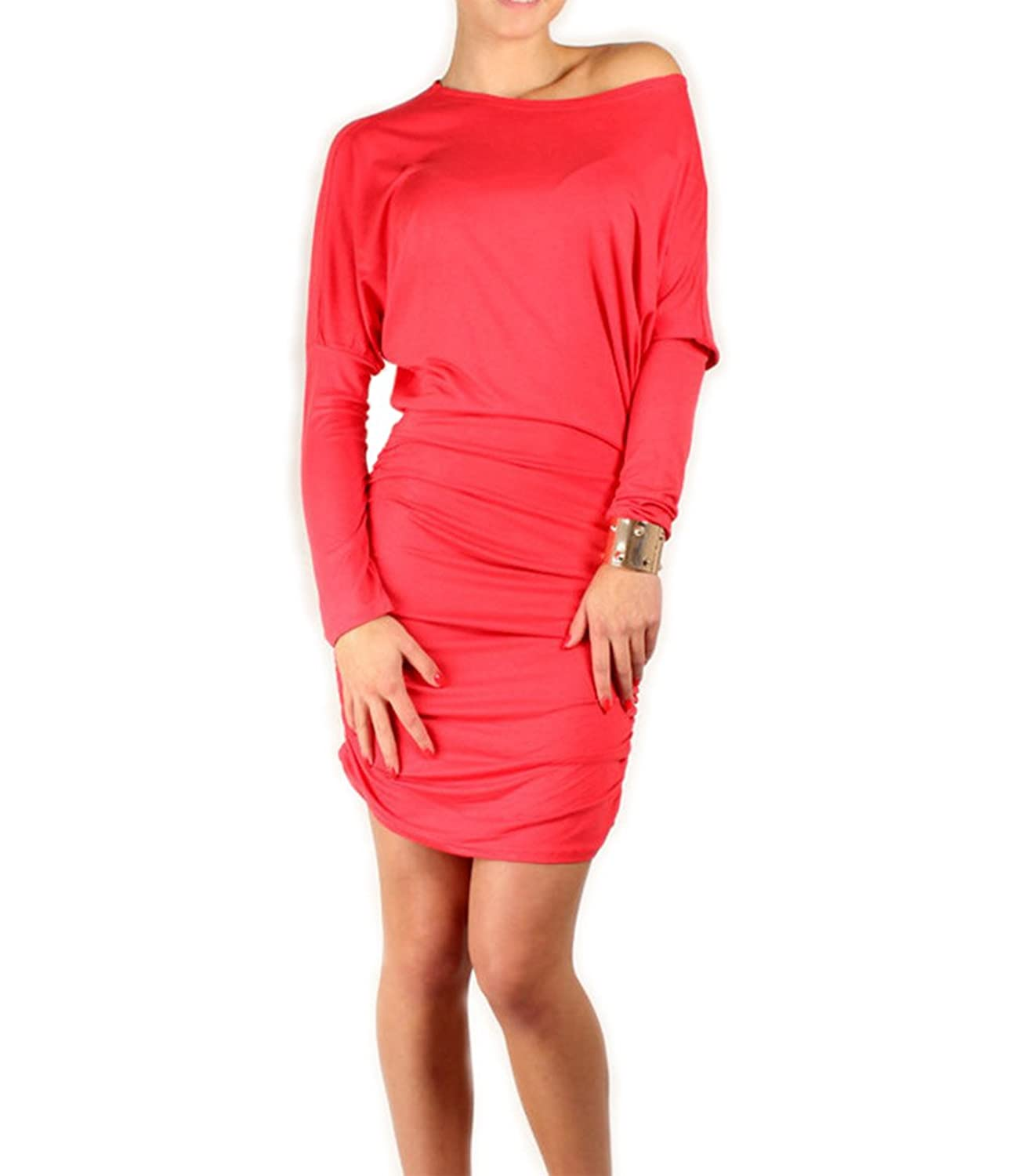 Chaomingzhen Women's Long Sleeve Bodycon Cocktail Party Mini Dress