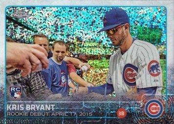 2015 Topps Chrome Baseball - 2015 Topps Chrome Update Pulsar Refractor #US283 Kris Bryant Baseball Rookie Debut Card