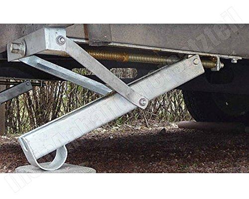 450mm Winterhoff Ausdrehst/ütze Wohnwagenst/ütze Kurbelst/ütze ADS 460 V 450kg