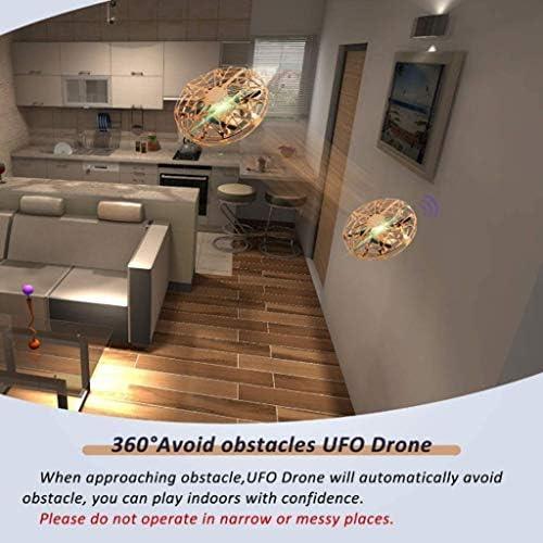 Drone for les enfants, Toy UFO, Voler Drone for les enfants à la main Contrôlé avec la lumière LED 360 ° de rotation hélicoptère for Garçons Filles Cadeaux d'anniversaire, Voler Boule Jouet surclassée