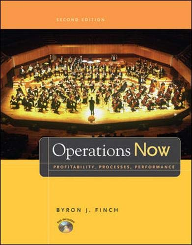 Operations Now: Profitability, Process, Performance with Student DVD