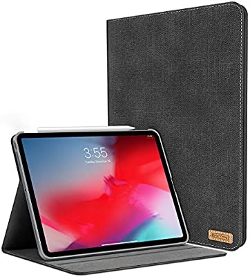 best service 7b241 d4eec TORRAS iPad Pro 11 inch Case 2018, Slim Fit Folding Folio Case with  Multiple Viewing Angles Stand, [iPad Pencil Pairing& Charging Friendly]  Protective ...