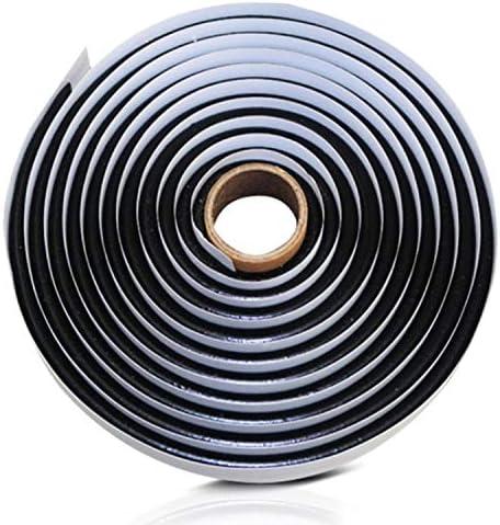 15FT Butyl Rope Butyl Rubber Sealant Tape for RV Car Headlamps Window Door Windshield, Black Waterproof Butyl Seal Tape- 3/8″ X 15′(4.5m)