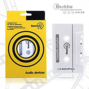 NETWIND Brand New 3.5mm Universal Car Audio Cassette Adapter for Smartphones