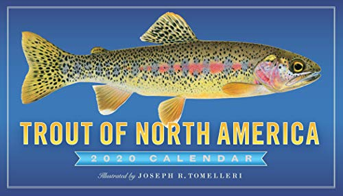 Trout of North America Wall Calendar ()