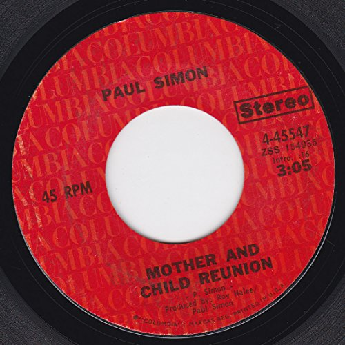 45vinylrecord Mother And Child Reunion/Paranoia Blues (7