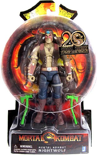Nightwolf Mortal Kombat 9 6-Inch Action Figure by Jazwares