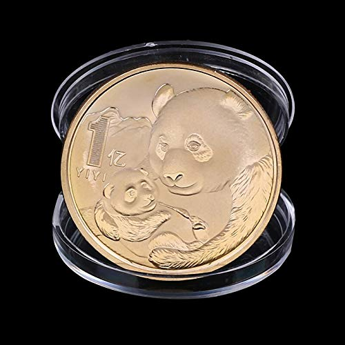 Non-currency Coins - 2019 China Panda Commemorative Coin Souvenir Art Collection Year Gifts - Silver Coin Coin Coin Coin Cat Coin Coin Money Gift Euro Lucky Coin Coin Coins Panda - Rare Dog Art