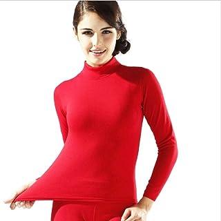 HNRYUDCF New Thermal Underwear Uomo Lungo Autunno Inverno Camicia + Pantaloni 2 Pezzi Set Caldo Spesso Plus Taglia M-XXXL, M