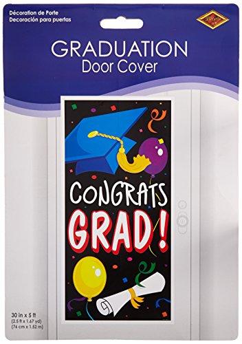 Congrats Grad Door Cover Party Accessory (1 count) (1/Pkg) ()