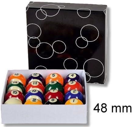 Favoritenspiele Professional - Juego de bolas de billar (48 mm): Amazon.es: Deportes y aire libre