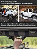 AMOSTBY 4 x Roll Bar Grab Handles Grip Handle for