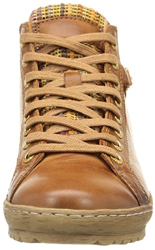 Pikolinos LAGOS 901-2 - zapatillas deportivas altas de cuero mujer marrón - marrón (Brandy)