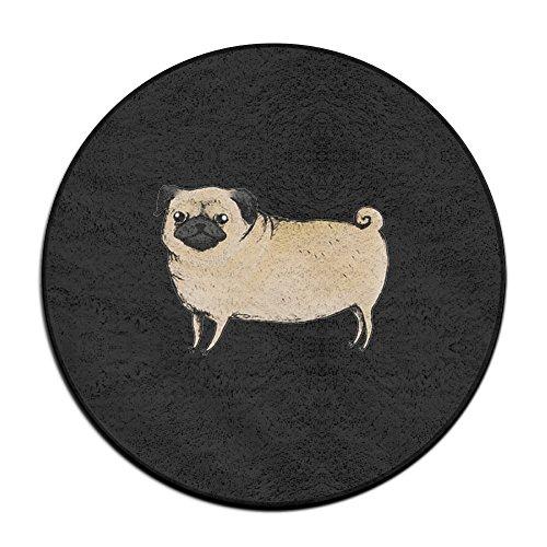 Pugster Puppy (Lovely Dog Puppy Pug Doormat Entrance Mat Floor Mat Rug Indoor/Outdoor/Front Door Mats Non Slip)