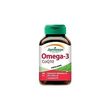 Jamieson Omega 3 Coq10 Integratore Alimentare 30 Perle: Amazon.es: Salud y cuidado personal