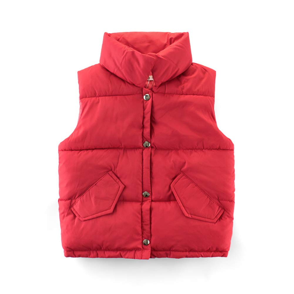 HAXICO OUTERWEAR ボーイズ 3-4Years(110cm) レッド B07KFDVS13