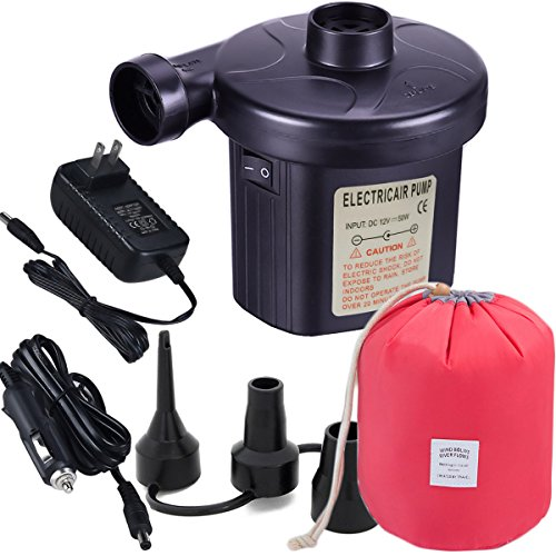 Usparkle Electric Air Pump Bonus a Travel Bag, Quick-Fill Ai